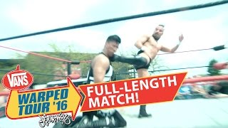 FREE MATCH - Mustafa Ali vs Marty Scurll at Freelance does Warped Tour