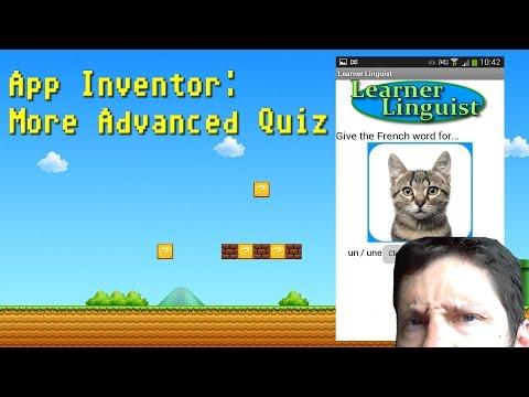 Making A Quiz App: More Advanced Quiz
