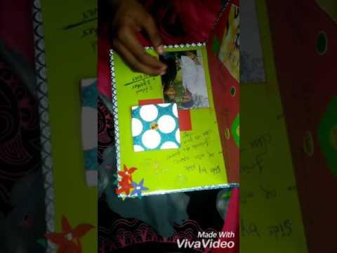 Birthday Card for best friend Handmade photo collage