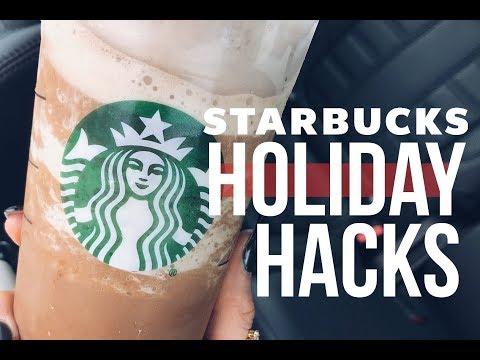 Starbucks Holiday Drink Hacks