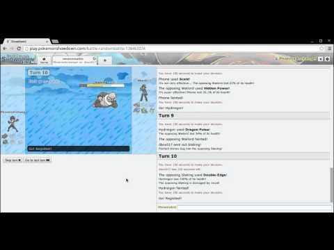 Pokemon X and Y Random battle Rhyperior sweep