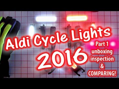 Aldi Cycle Lights 2016