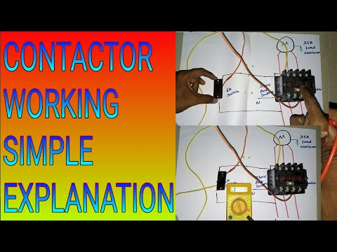 How to wire a contactor simple explanation new