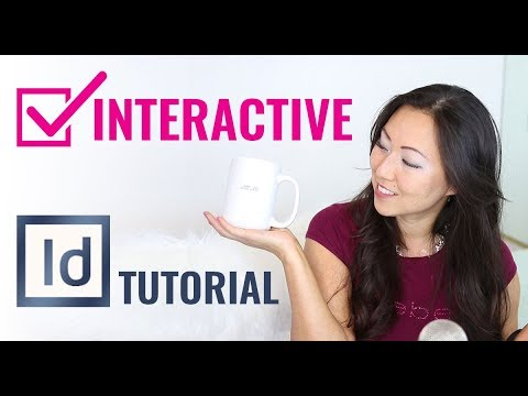 InDesign TUTORIAL How to create checkboxes in InDesign // Interactive Checkboxes for forms