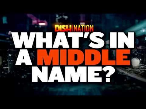 CELEBRITY MIDDLE NAMES REVEALED