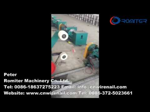 Automatic Water Tank Type Wire Drawing Machine-Romiter Machinery