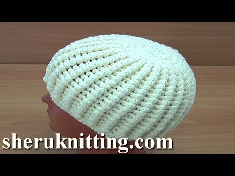 Crochet Puff Stitch Hat Tutorial 265