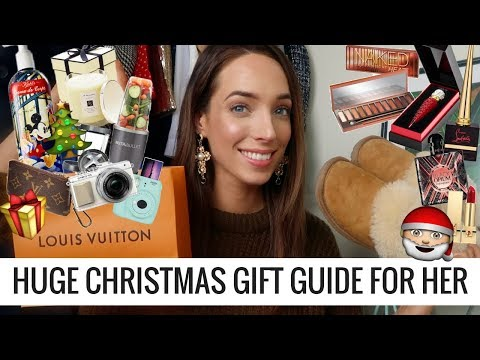 HUGE CHRISTMAS GIFT GUIDE FOR HER 2017 👩🏻  🎁  🎅🏻  LUXURY, UNDER €100, UNDER €50, | CIARA O DOHERTY