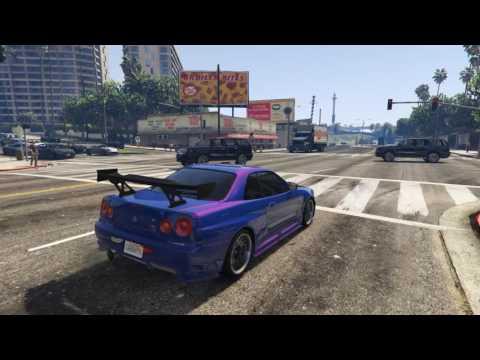 GTA 5 Nissan Skyline Add On