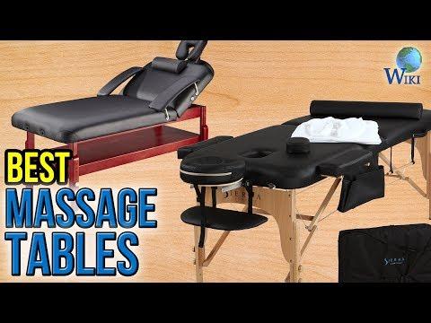 10 Best Massage Tables 2017