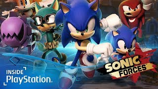 Sonic Forces für PS4 angespielt: Eigener Charakter, Tag Team Modus & so sieht das Gameplay aus