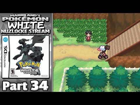Pokémon White Nuzlocke Stream, Part 34 • TRAINING EPISODE • May 12, 2018 • STREAM ARCHIVE