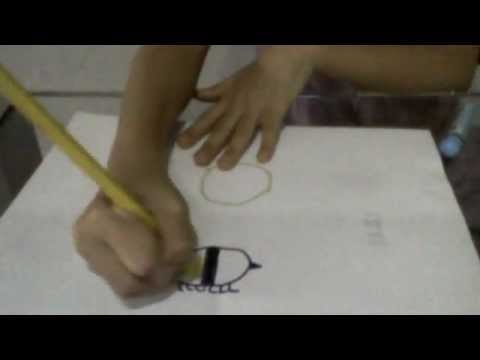 HOW TO DRAW A BUMBLE BEE/CARTOON BEE