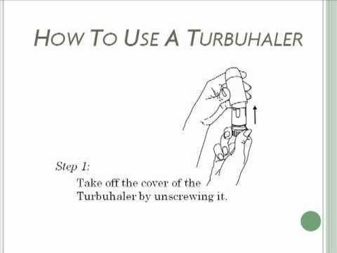 How to Use a Turbuhaler - Turbuinhaler - Asthma Inhaler