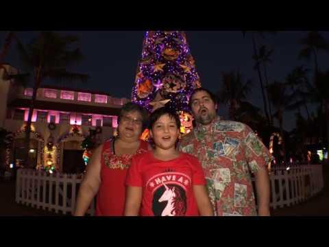 Mele Kalikimaka : The Aloha Quails Christmas video.