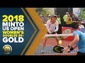 Women's Doubles 25+ Gold Medal Match from the 2018 Minto US Open Pickleball Championships