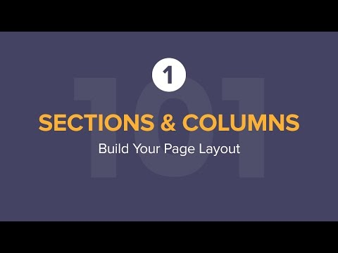 Build Your Page Layout on Elementor