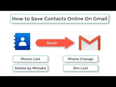 How to Save Contacts Permanently On Your Google Account in Urdu by jam asif.