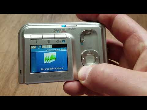 How to Format HP Photosmart Camera M425