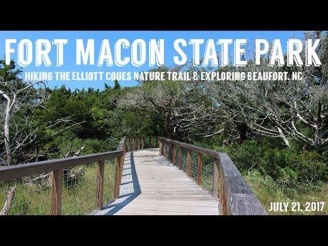 Hiking Fort Macon State Park | Exploring Beaufort, NC | Wandering Around In Wonder