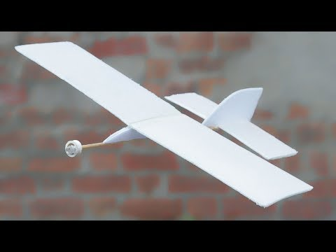 How to Make Flying Aeroplane Using Recycled Materials
