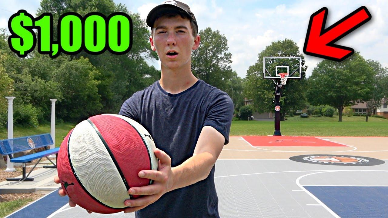 Make The Shot, Win $1000
