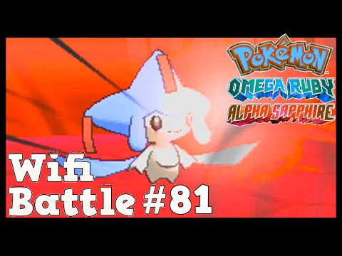 Pokemon ORAS / X&Y Wifi Battle #81: Make a Wish, Jirachi (Omega Ruby & Alpha Sapphire)
