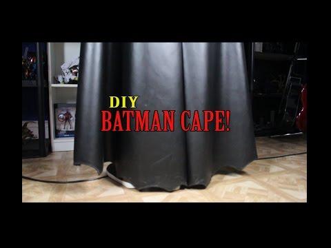 DIY Dawn of Justice Batman Cape ( DOJ Batman Cosplay Part 7)
