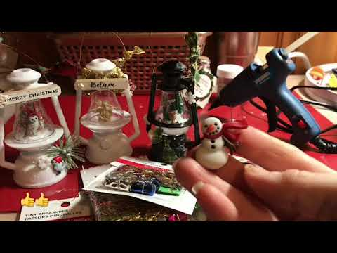 Dollar Tree Lanterns Upscaled!! Beautiful Altered Lanterns DIY 5th Day of Christmas DIY ornaments