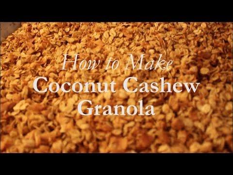How to Make Coconut Cashew Granola