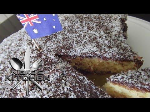 EASY LAMINGTON CAKE - VIDEO RECIPE