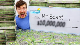 I Spent $100,000 On Lottery Tickets And Won!