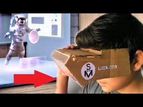 How to Make a 3D Hologram for you Smartphone using Cardboard