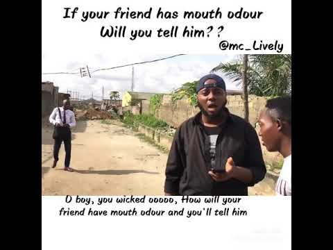 Mc Lively - If Your Friend Has Mouth Odour….will You Tell Him?? Cover