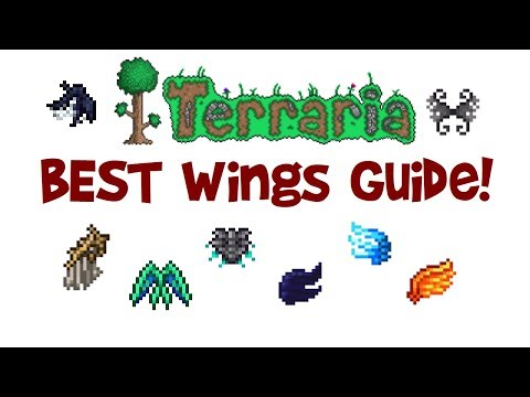 Terraria BEST Wings Guide & Comparison! (PC, IOS, Xbox, Android, PS4 etc.)