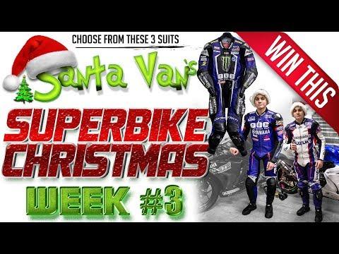 Santa Van's Superbike Christmas: Week 3 Race Suit Giveaway