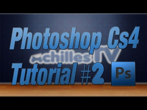 How to make Sticker Text - PHOTOSHOP TUTORIAL CS4