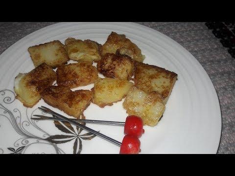 Fried Milk || ভাজা দুধ || Leche Frita Recipe || Easy Spanish Dessert ||Dessert Recipe