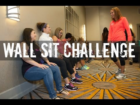 Wall Sit Challenge | Gauge Girl Training