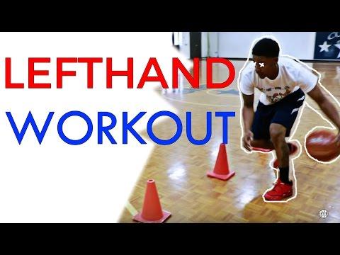 Left Hand Dribbling - Weakhand
