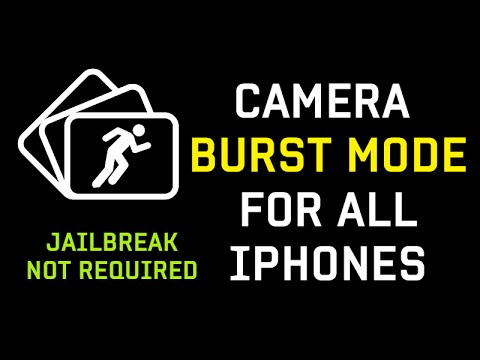 How To Enable Burst Mode Photos & Time-lapse On Old iPhone