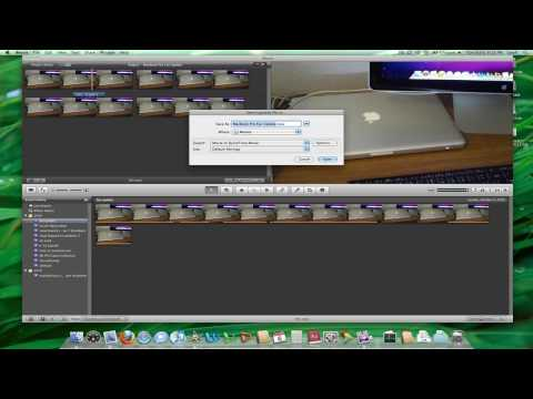 How to Export a Video in iMovie 09 (in HD)