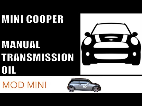 How to Change Manual Transmission Oil - MINI Cooper R53 R56 F56
