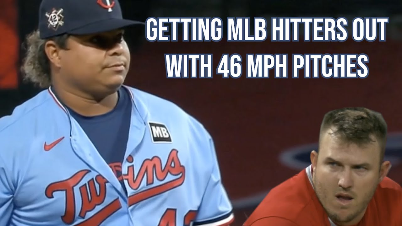 Willians Astudillo gets batters out throwing 46 mph pitches, a breakdown