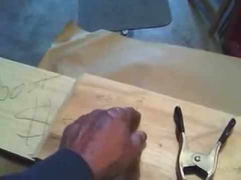 Making a set of planer boards cut and sand part 2