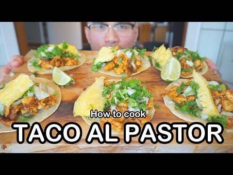 How to cook CHICKEN TACO AL PASTOR