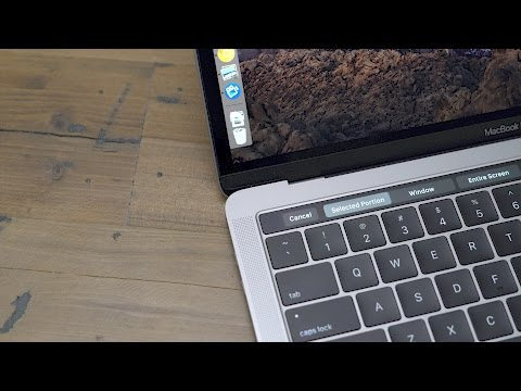 Mac 101: How to take screenshots with the Touch Bar