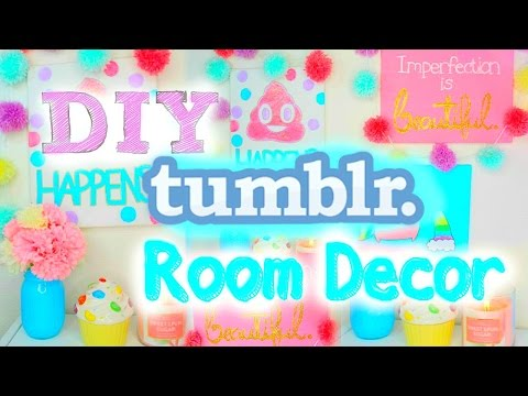 DIY Tumblr Room Decor 2015 | Cute & Easy Wall Art! ♡