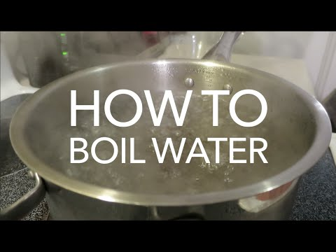 How To Make Safe Drinking Water - How to Boil Water For Drinking
