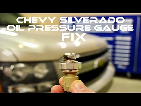 Chevy Oil Pressure Gauge not working - How To Fix - All GM Trucks